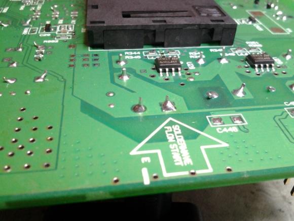 solder joints
